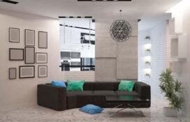 интерьер современной гостинной