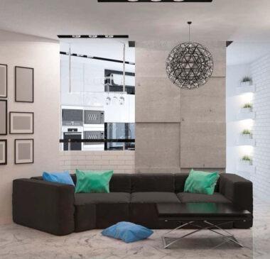 Дизайн квартиры в ЖК «Бульвар фонтанов»