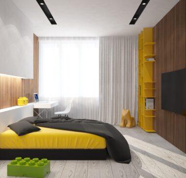 Дизайн интерьера квартиры в ЖК «Riverstone»