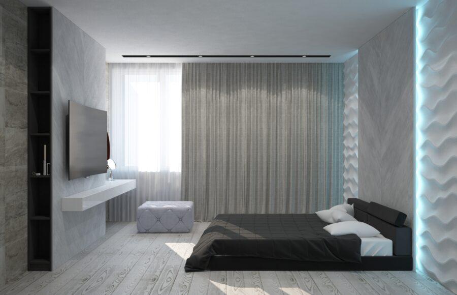 оригинальный дизайн спальни