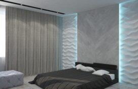 стиль минимализм в спальне