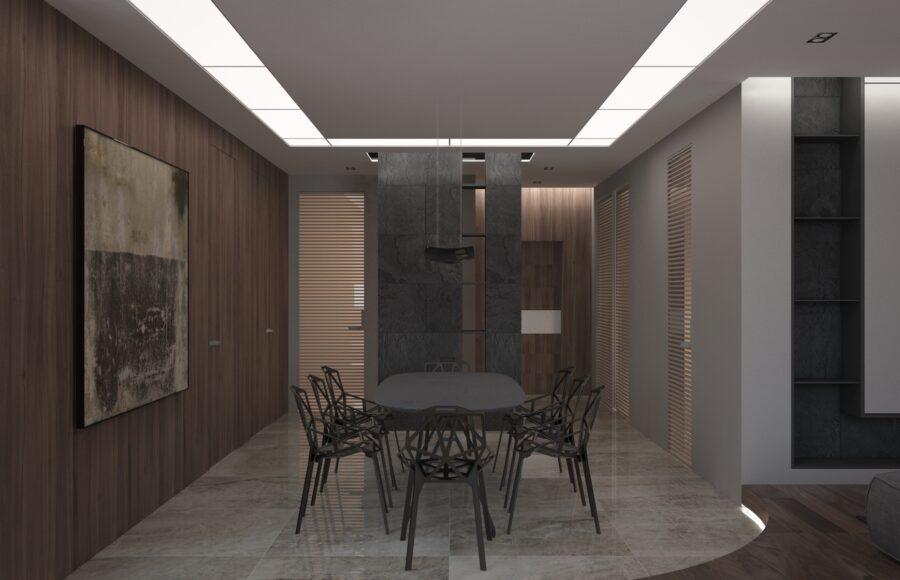 элитный дизайн интерьера квартиры