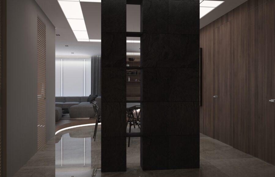 элитный дизайн гостинной